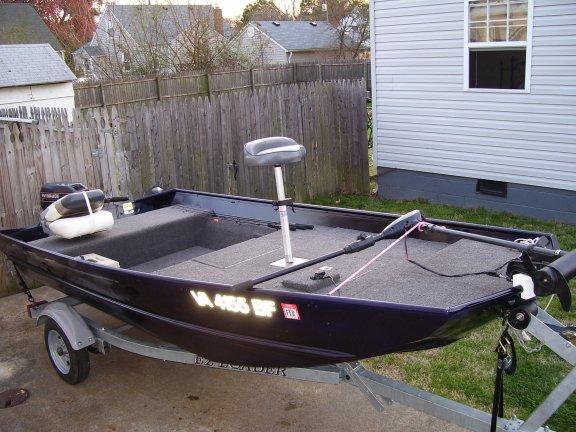 Build Jon boat to bass boat
