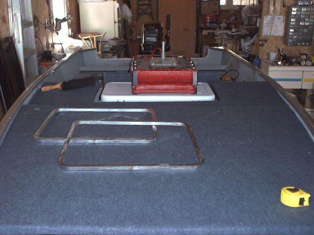 Jon Boat Deck Plans